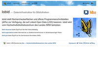 Relaunch von lobid-resources und lobid-organisations