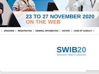 SWIB20 – Vorträge und Mitschnitte online