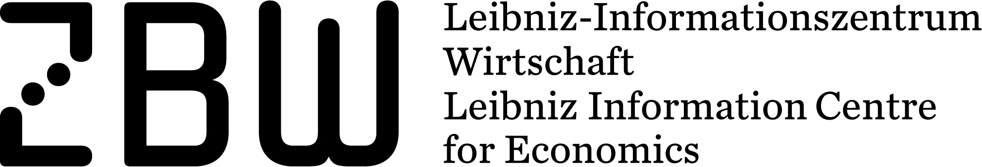 Logo ZBW - Leibniz-Informationszentrum Wirtschaft